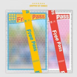 DRIPPIN (드리핀) - 싱글1집 : Free Pass [2종 중 1종 랜덤발송]