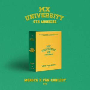 [DVD] 몬스타엑스 (MONSTA X) - 2021 FAN-CONCERT : MX UNIVERSITY