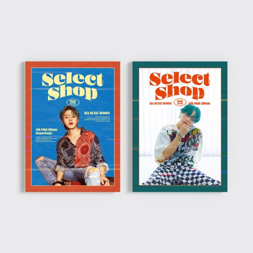 [SET] 하성운 (HA SUNG WOON) - 미니5집 리패키지 : Select Shop